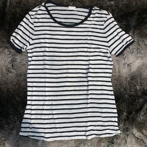 Garage striped T-shirt